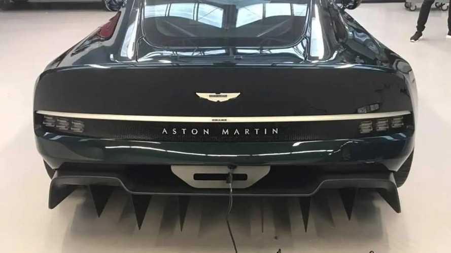 Aston Martin Victor At Aston Martin Dealer In Antwerp, Belgium