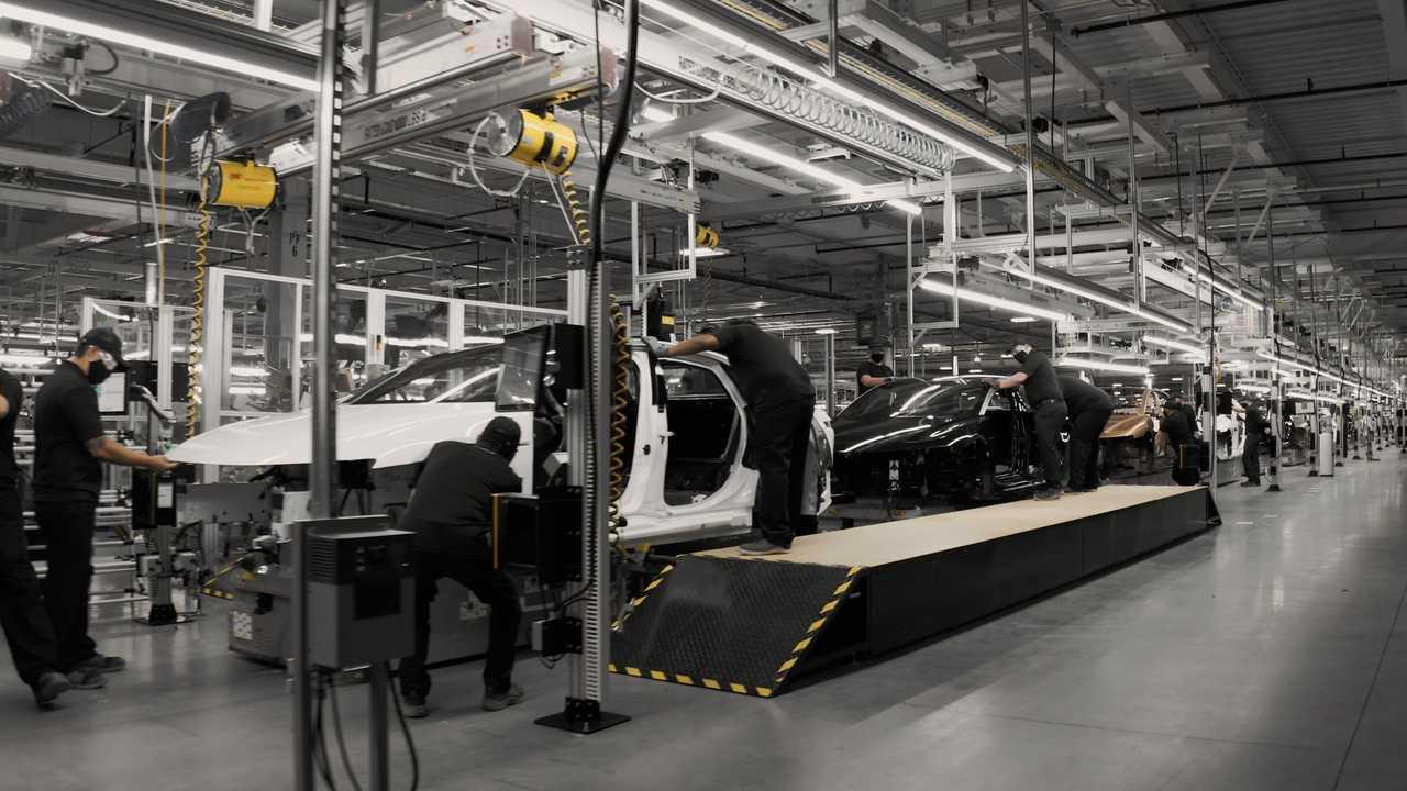 Pabrik Lucid Motors di Casa Grande, Arizona