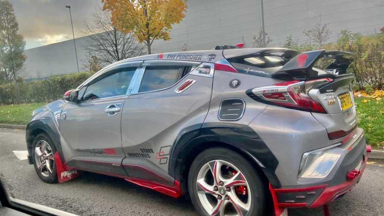 Toyota C-HR fail