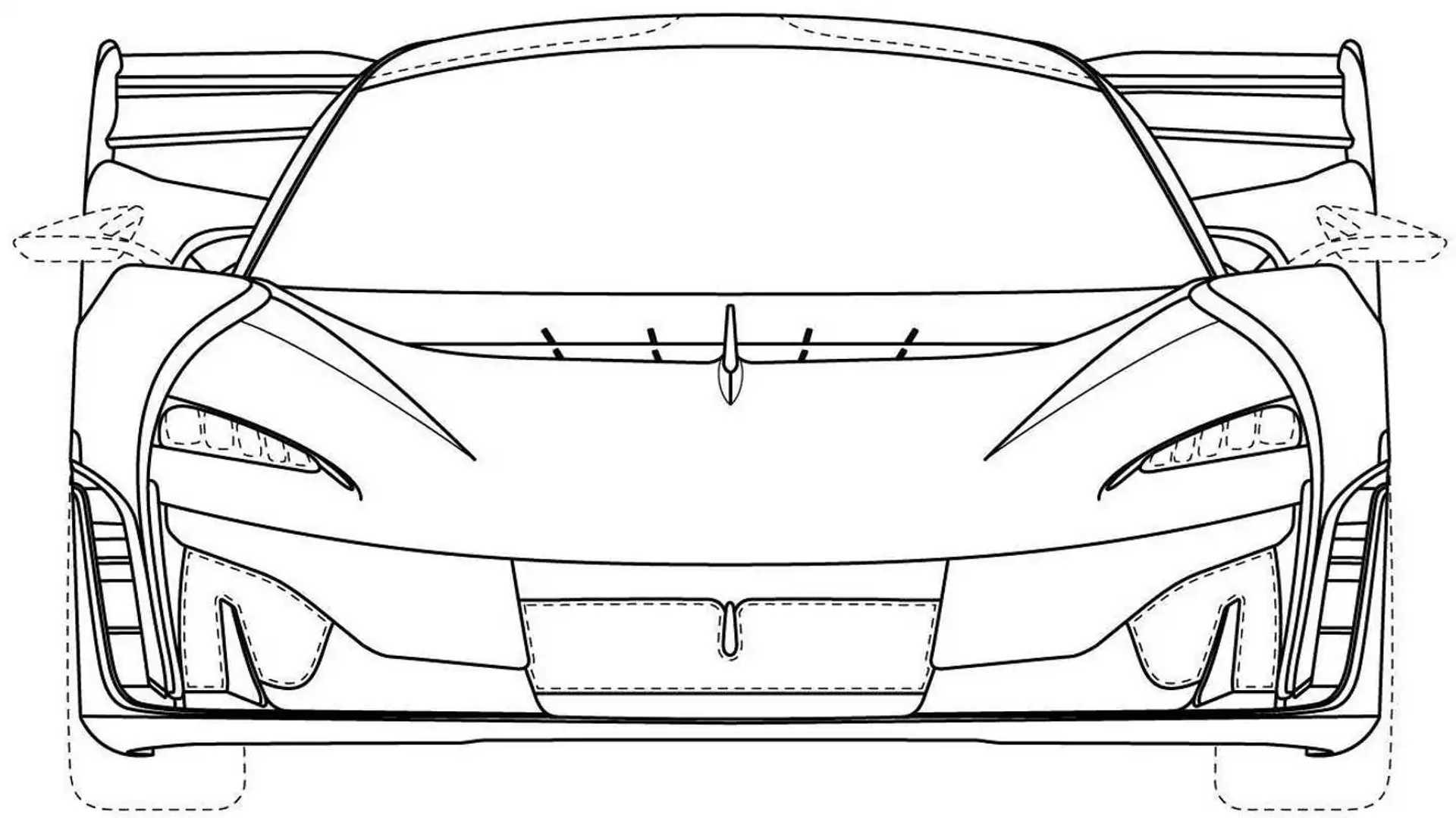 McLaren Ultimate Series Design Trademark Front