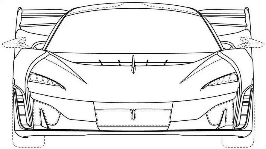 McLaren Ultimate Series Design Trademark