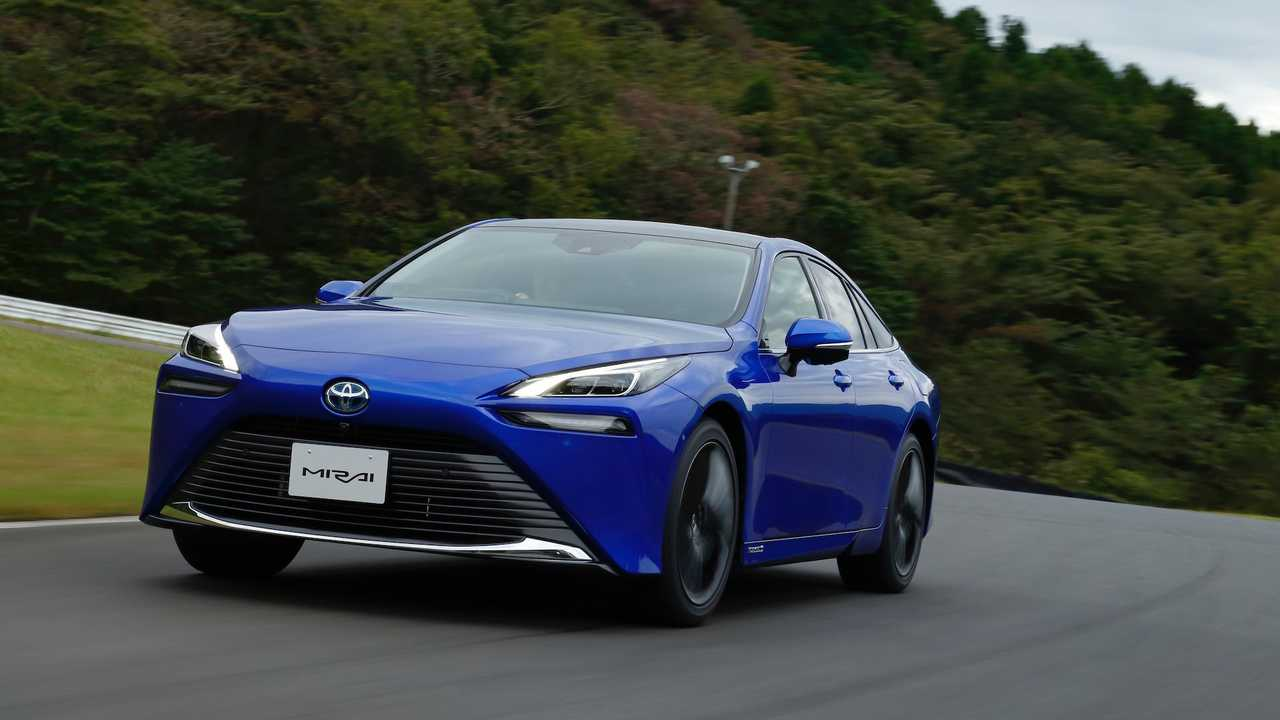 La nuova Toyota Mirai