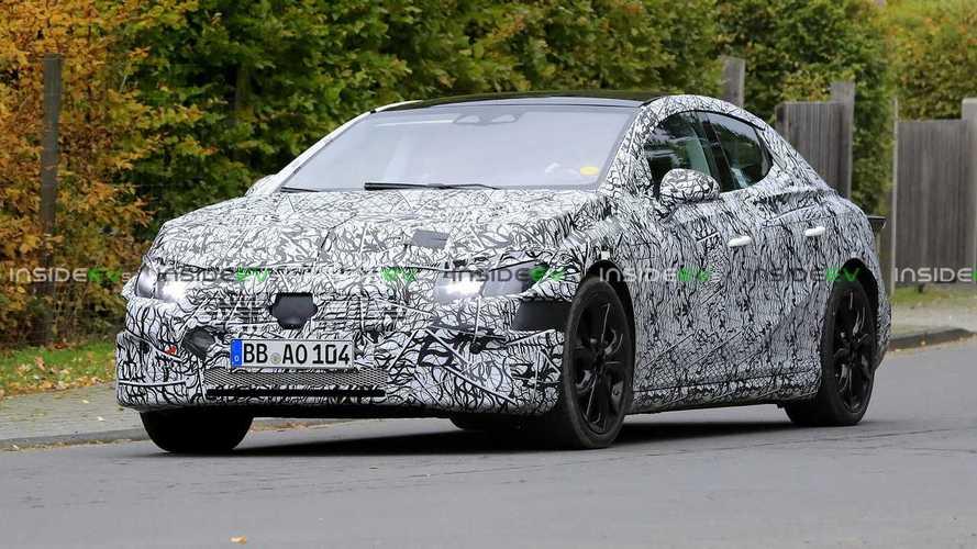2022 Mercedes-Benz EQE Sedan Spied Again, Still Mostly Hidden By Camo