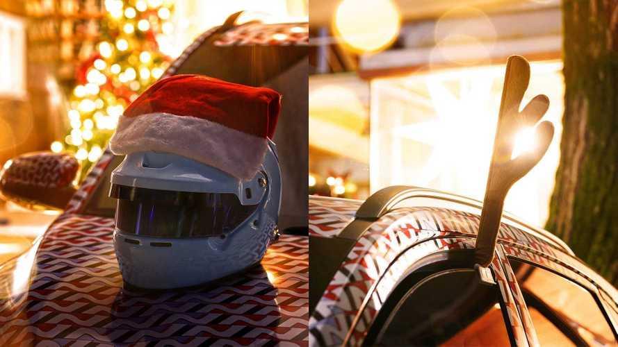 Hyundai Kona N, il teaser a tema natalizio
