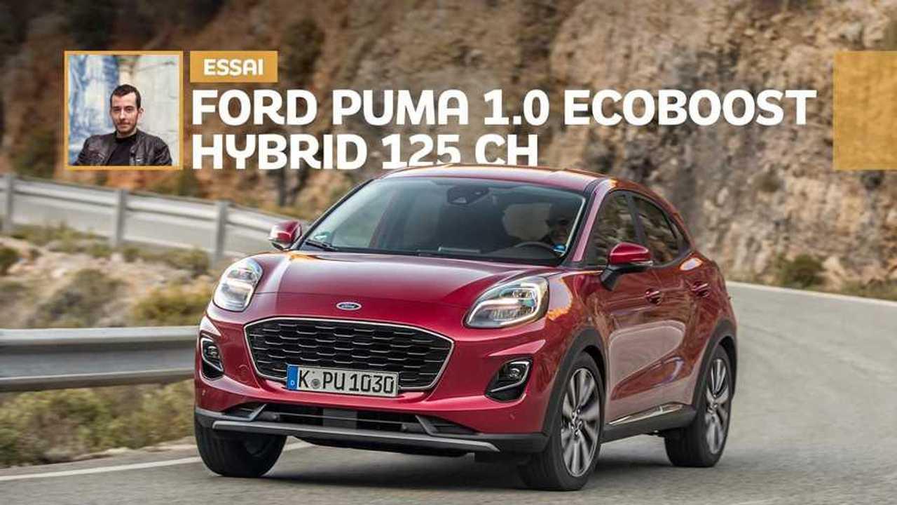Essai Ford Puma 1.0 EcoBoost Hybrid 125 ch