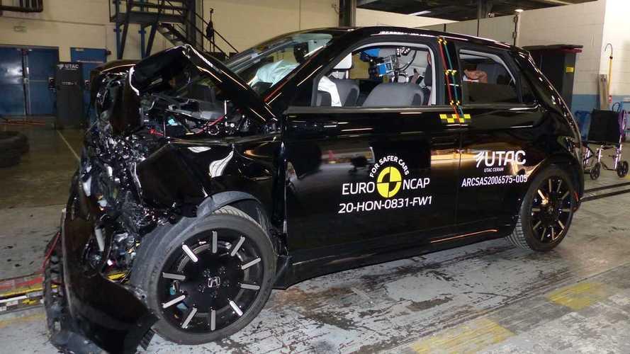 Honda e: elétrico ganha 4 estrelas e fica abaixo do esperado nos testes de colisão