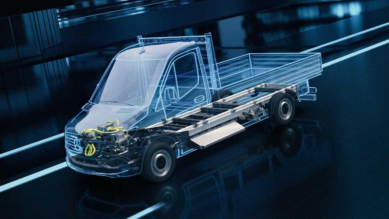 Yeni nesil Mercedes-Benz eSprinter Electric Versatility Platform