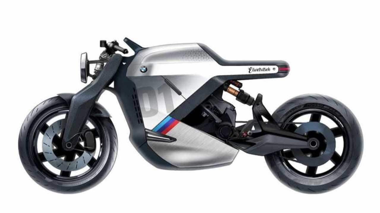 Manu Mohan's BMW Electric Cafe Racer Concept