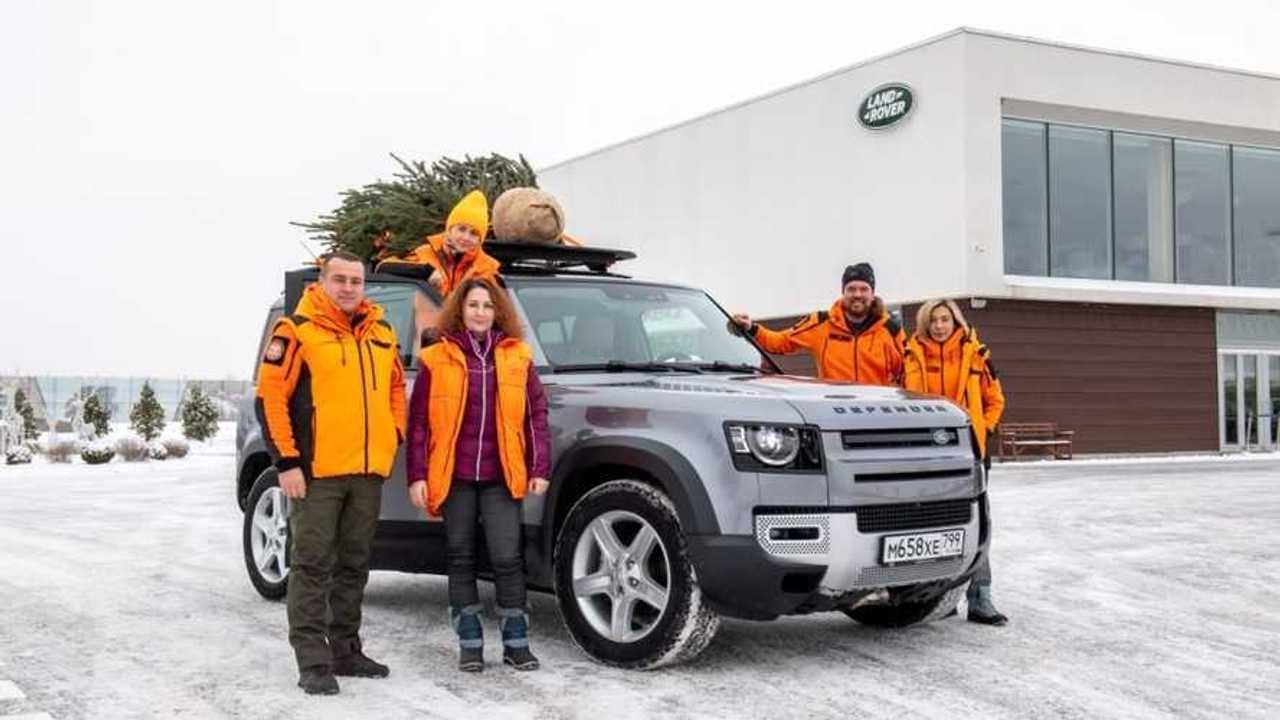 Лиза Алерт и новый Land Rover Defender