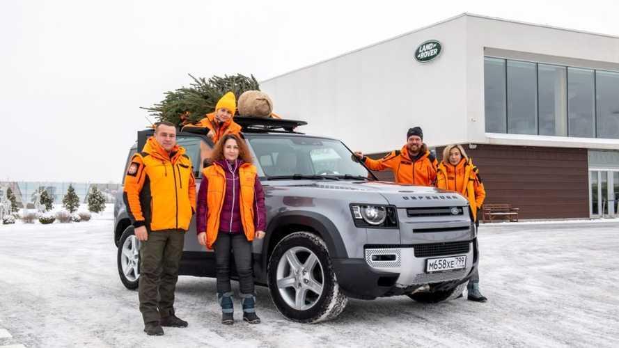 Jaguar Land Rover и «Лиза Алерт» устроили «Эстафету добра»