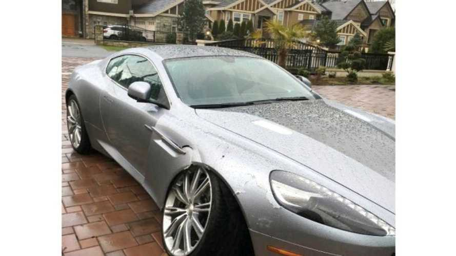 Aston Martin owner crashes car, sues dealer for inflating repair bill, loses badly