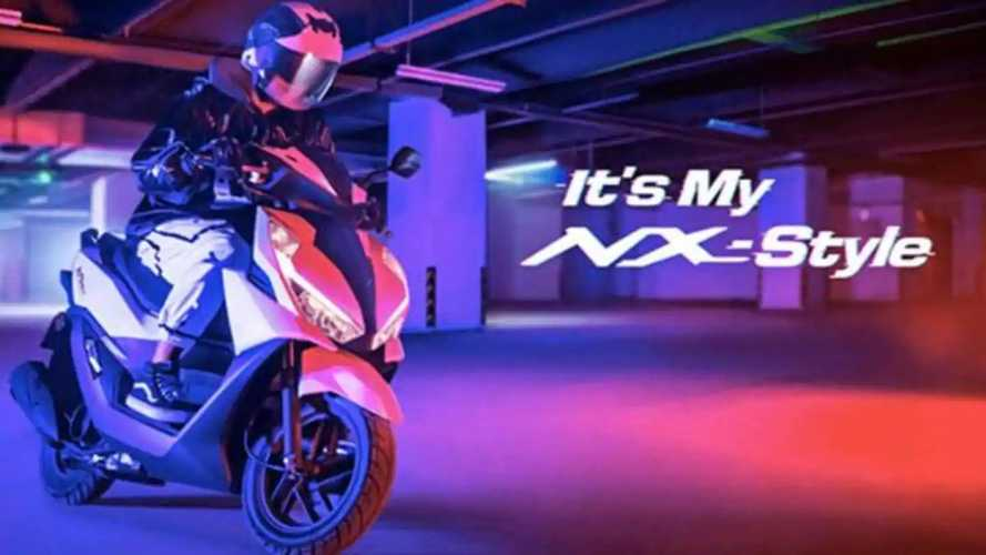 Honda NX125 Scooter Unveiled For Asian Market In 2021