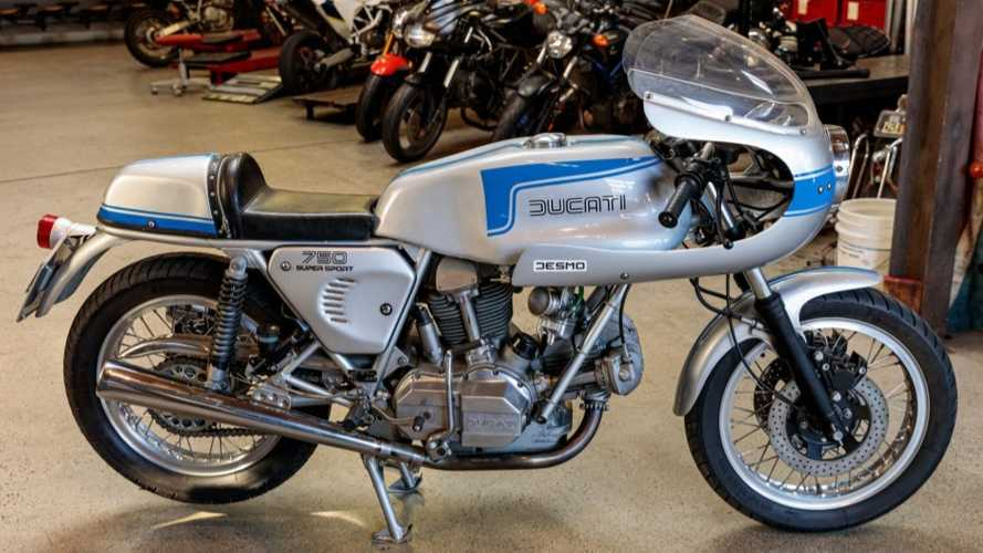 This Mint 1976 Ducati 750SS Will Make A Fine Addition To Your Stable