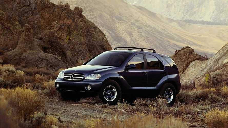 Mercedes AAVision im Januar 1996: Studie der M-Klasse