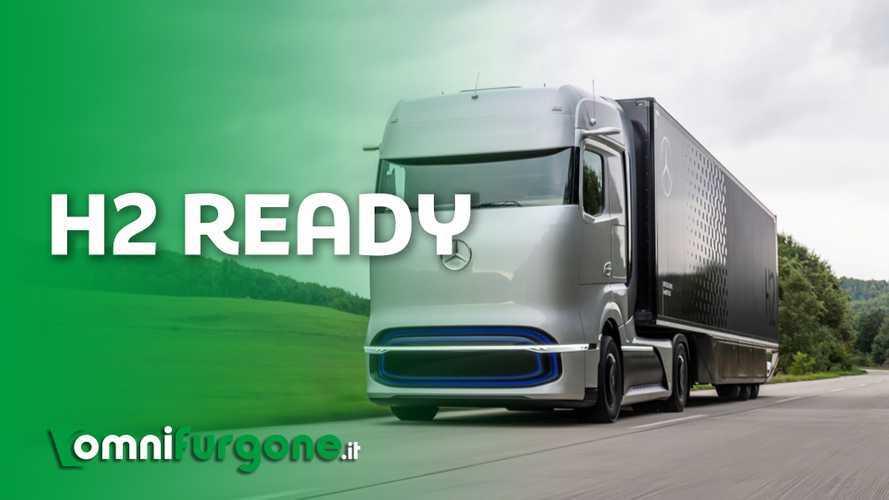 Mercedes sceglie l'idrogeno per i suoi camion. Ecco perché