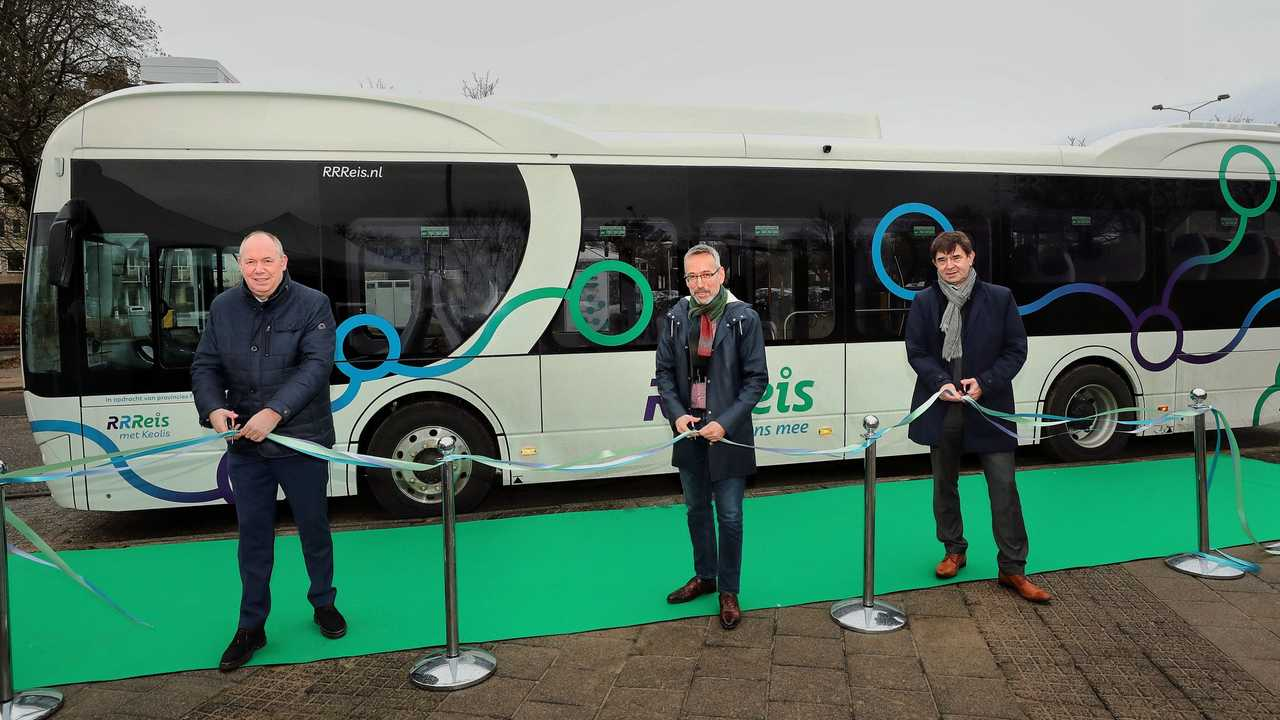 BYD delivers 246 eBuses to Keolis in the Netherlands