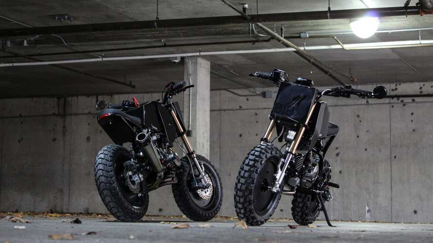 Droog Moto Goes Bite-Sized With The DM-018 Mini Fighter