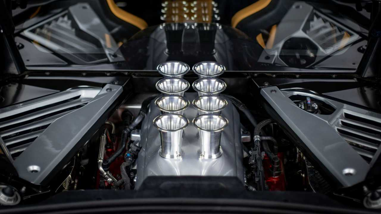 Custom Cre8ions C8 Corvette Velocity Stacks