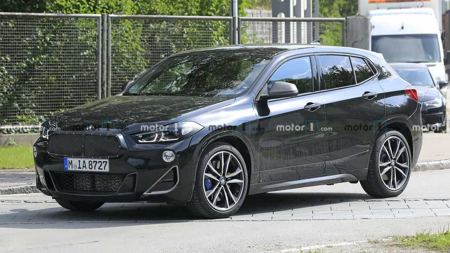 Makyajlı BMW X2 bu kez de kamuflajsız görüntülendi