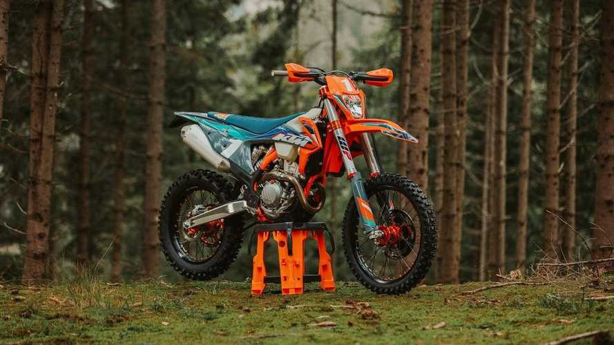 KTM Unleashes 350 EXC-F WESS Edition For Enduro Fans