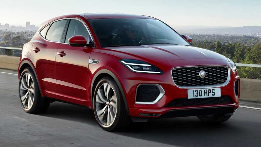 2021 Jaguar E-Pace Debuts Subtle Refresh Inside And Out