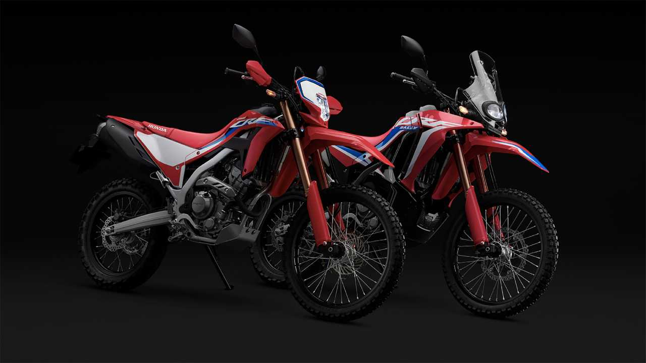 2021 Honda CRF250L and CRF250 Rally Preview