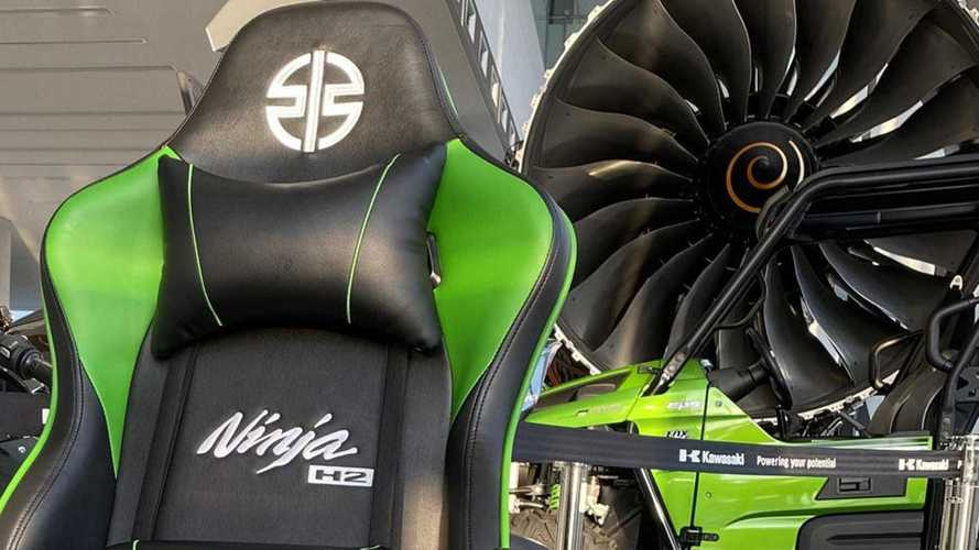 Elevate Your Gaming Experience With This Kawasaki H2 Gaming Chair