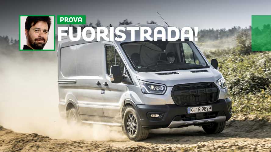 Ford Transit Trail 4WD, la prova in off-road vero