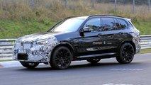 BMW X3 M Facelift (2022) erstmals erwischt