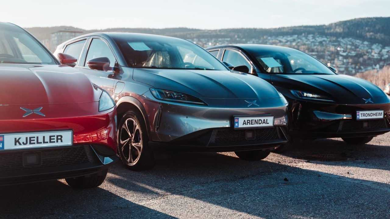 First batch of Xpeng G3 in Norway - December 2020