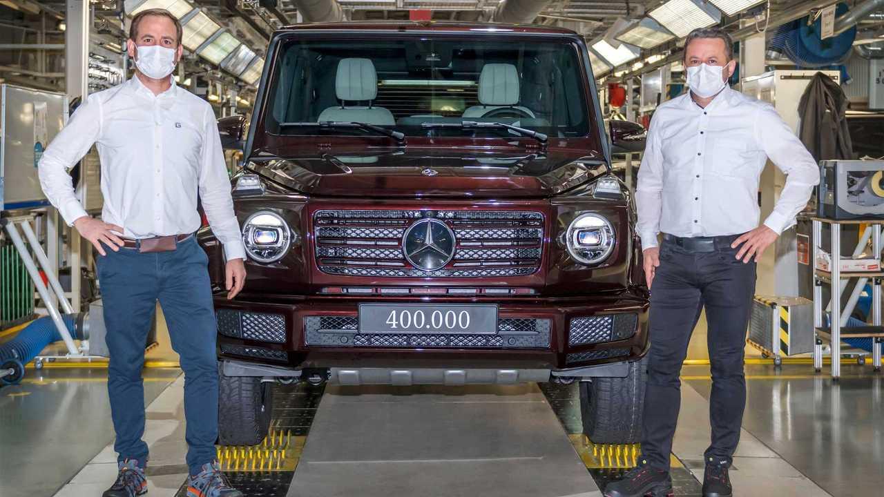 400-тысячный Mercedes-Benz G-класса