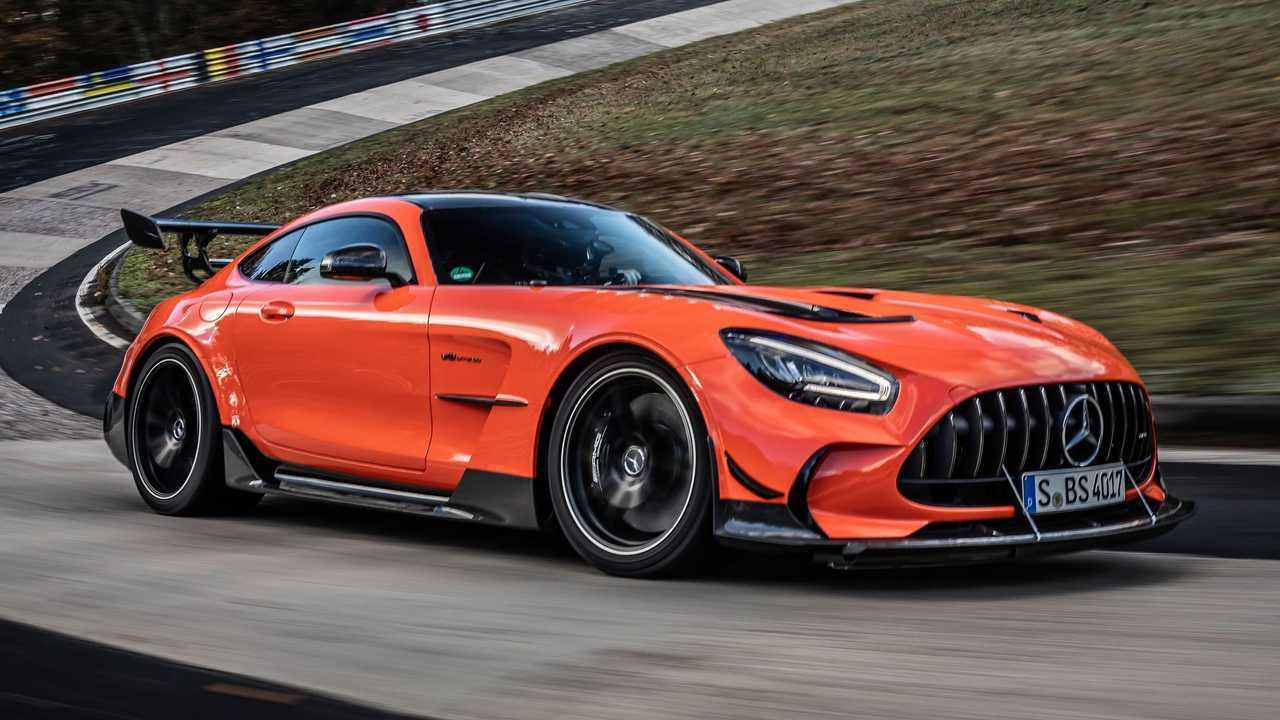 Mercedes-Benz AMG GT pecahkan rekor di Nurburgring