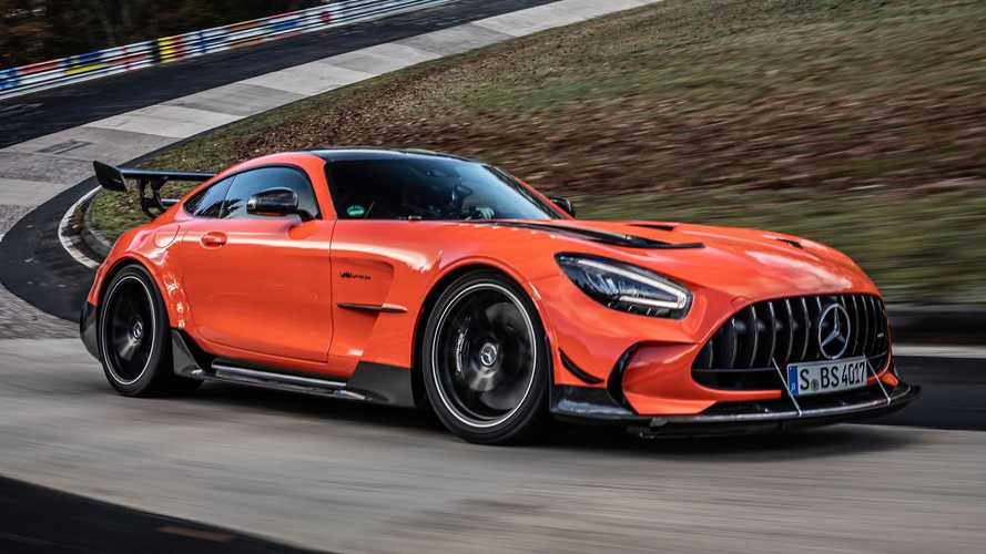 Mercedes-AMG GT Black Series Now Holds Production Car Nurburgring Record