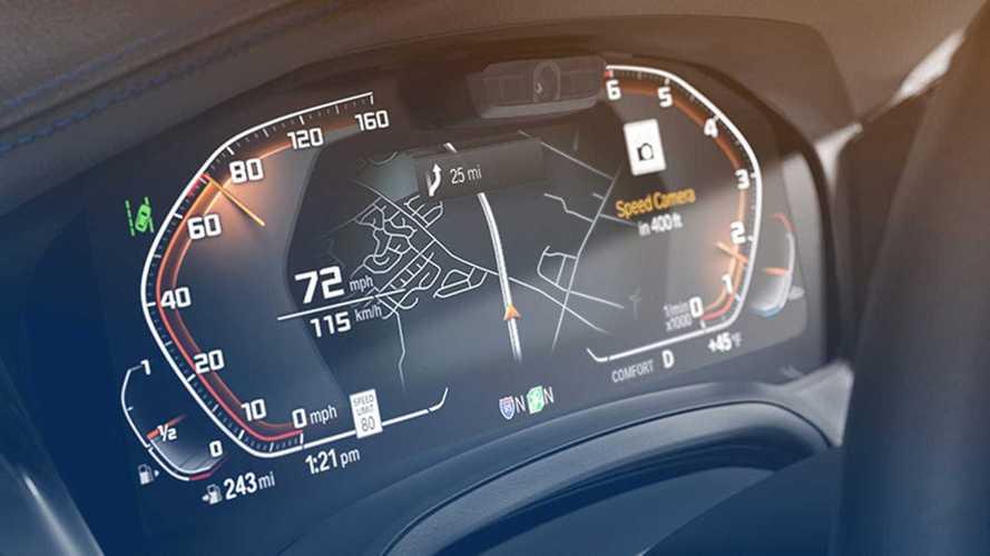 BMW, sabit hız kameralarını gösteren yeni sistemini tanıttı