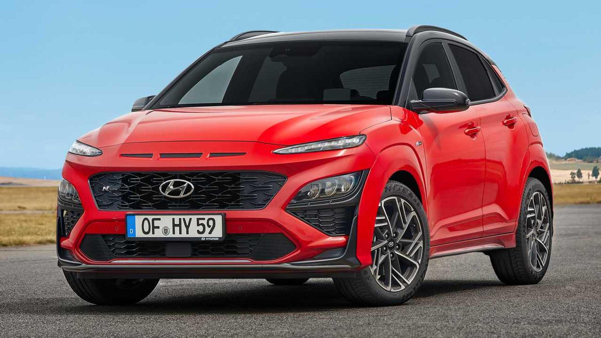Hyundai Kona Debuts Major Exterior Update, Sporty-Looking ...