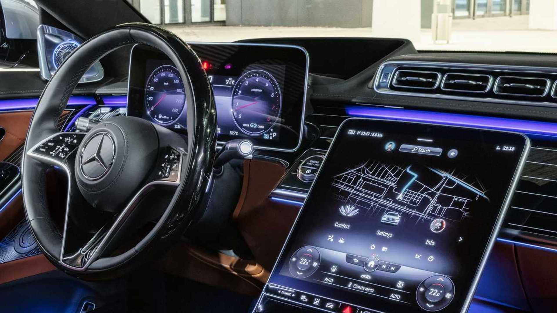 Mercedes S-Klasse (2021): Die neue Generation gibt es ab ...