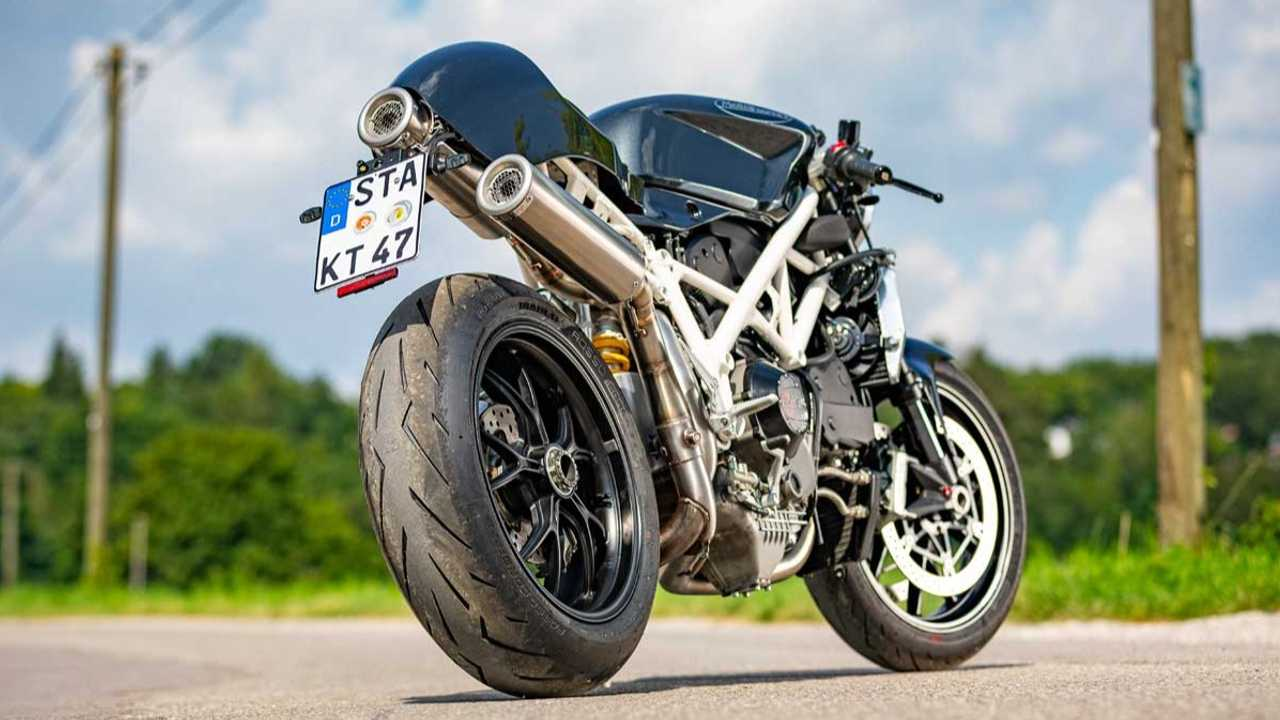 Moto Essence Custom Ducati 1098 Cafe Racer