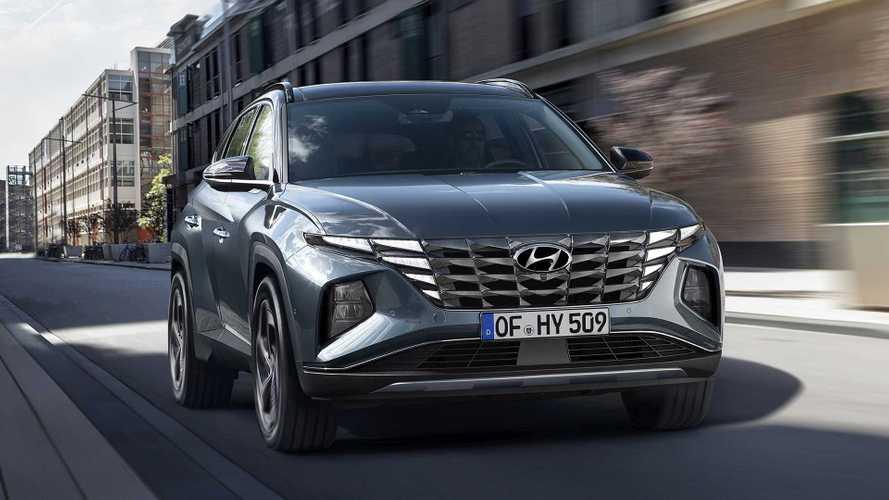 Hyundai Tucson (2021): Neue Generation des Kompakt-SUVs ist extrem kantig