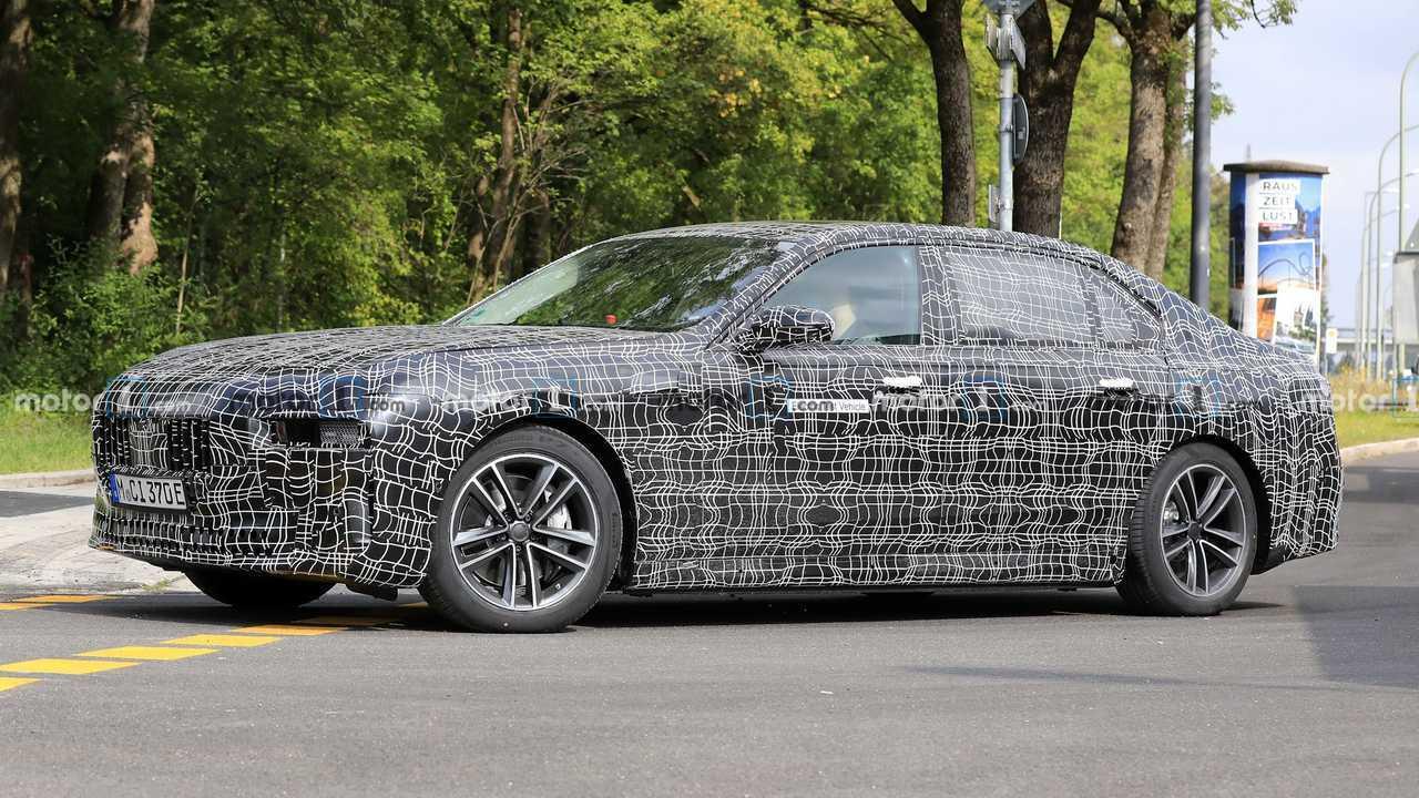 BMW i7 Casus Fotoğraflar