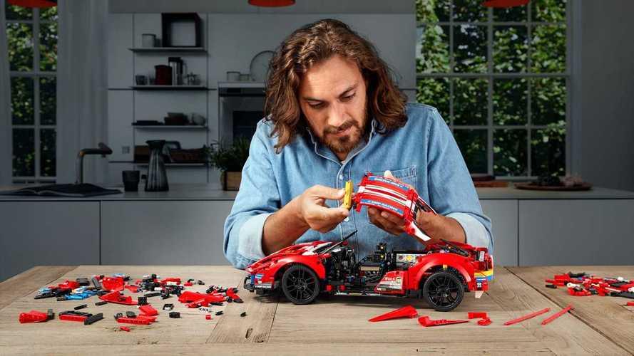 La Ferrari 488 GTE de Lego Technic