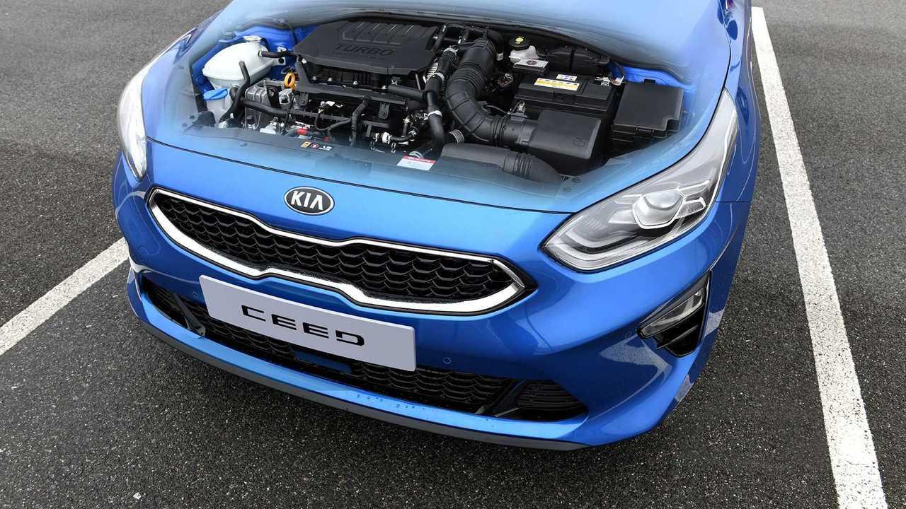 Новые моторы Kia Ceed