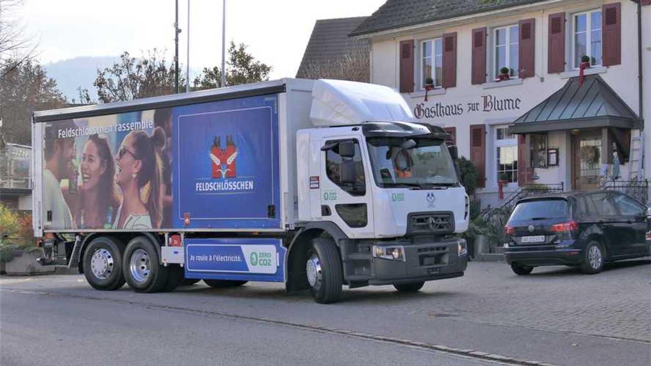 Renault Trucks: 26 toneladas D Wide Z.E. na frota Carlsberg Group