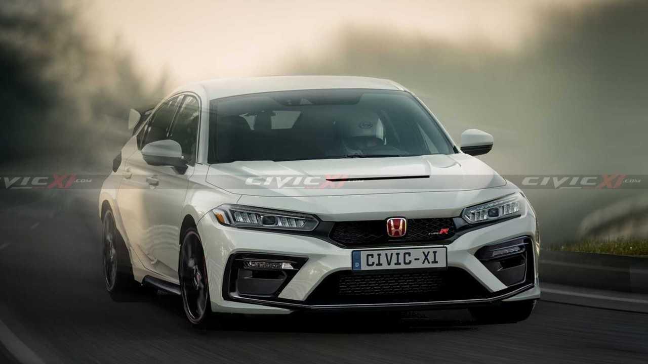 Honda Civic Type R 2021, render