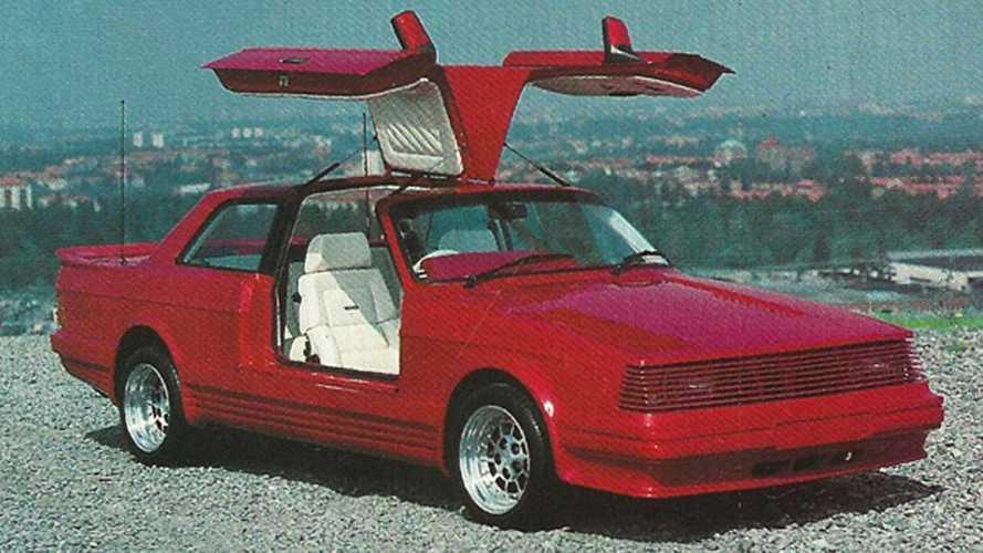 Concept oublié - Volvo 242 Gullwing (1985)