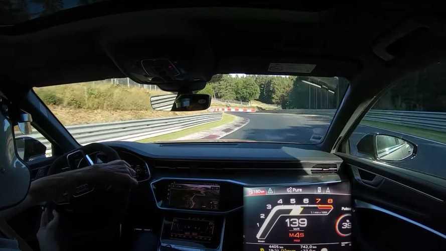 2020 Audi RS6 Avant'ın Nürburgring turunu izleyin