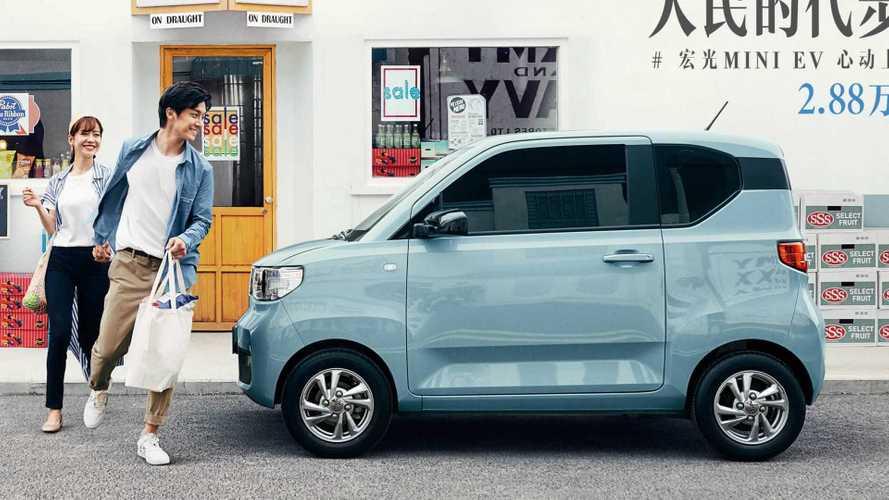 MINI EV de submarca da GM pode se tornar o elétrico mais vendido da China