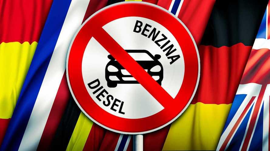 Stop alle auto benzina e diesel: ecco tutti i Paesi già pronti al divieto