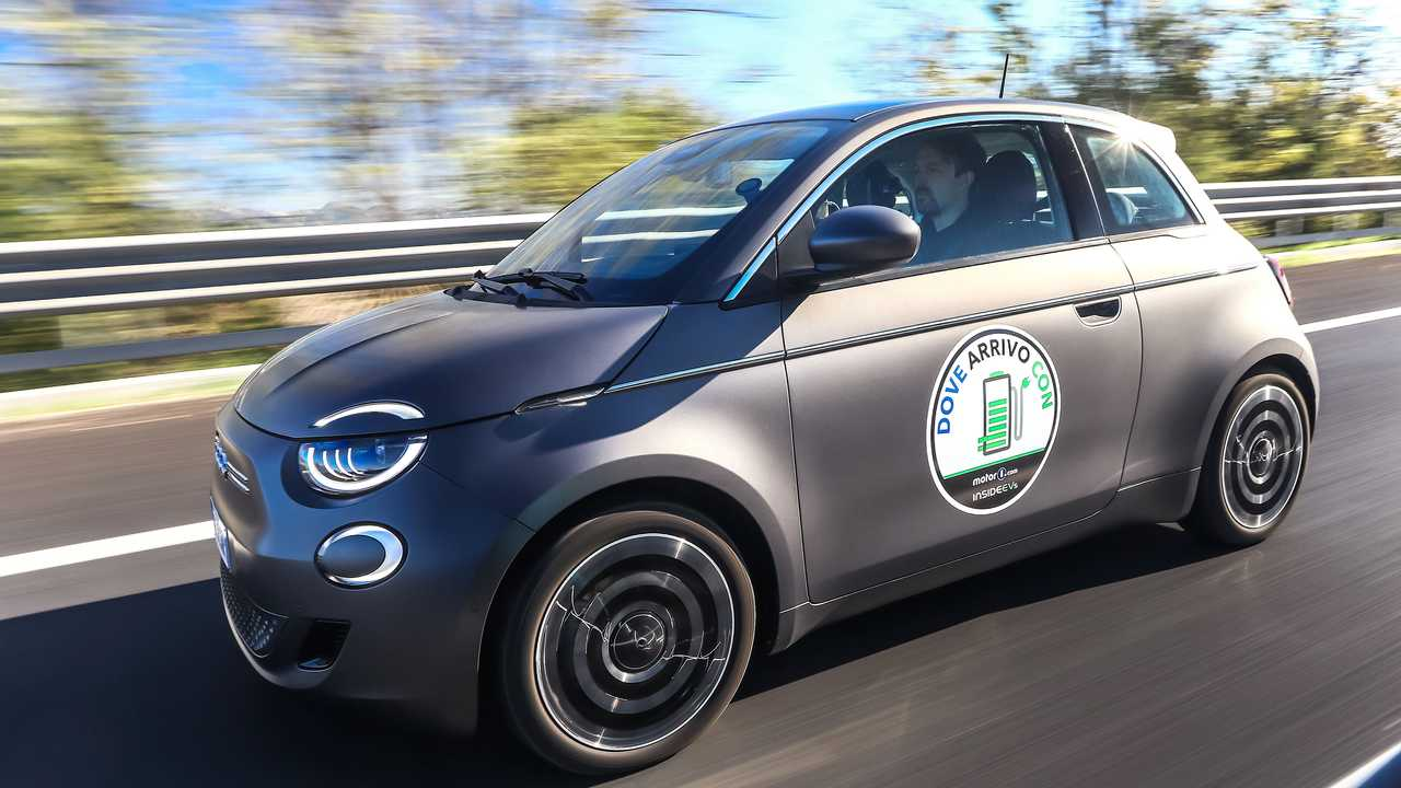 Dove arrivo con... Fiat 500 elettrica