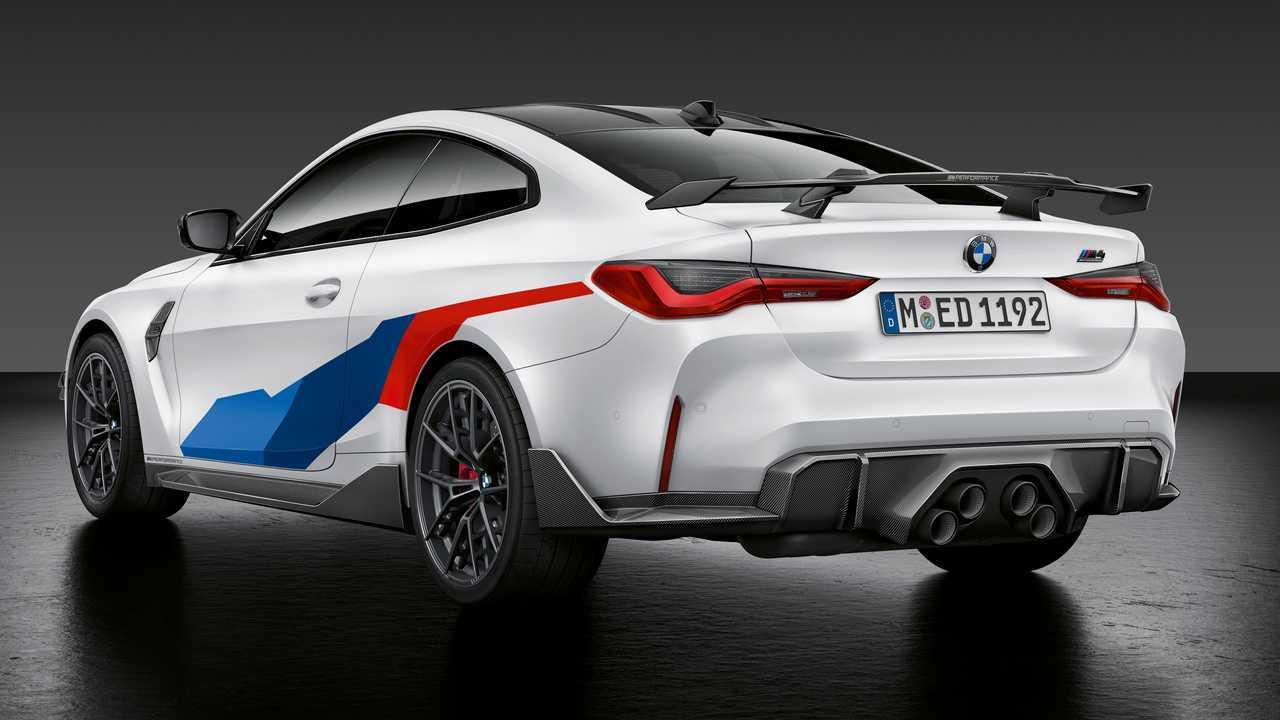 2021 BMW M3 Limousine und M4 Coupe mit M Performance Parts