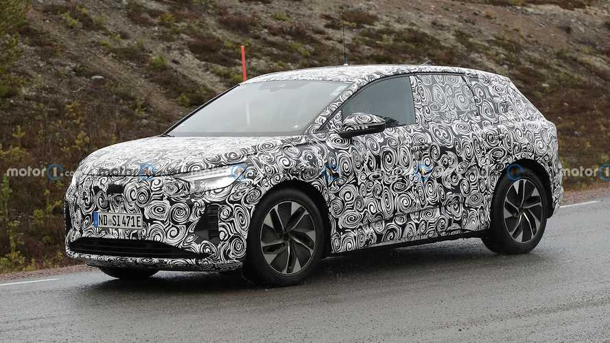 Audi Q4 e-tron, le foto spia del SUV compatto elettrico